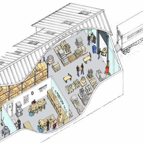 Manufacturing Warehouse image